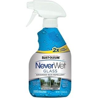 Rust-Oleum 287337 NeverWet Auto Glass Cleaner, 11 Oz