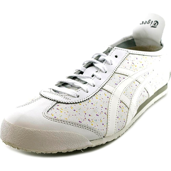 Onitsuka Tiger by Asics Mexico 66 Women Round Toe Leather White Sneakers