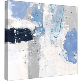 """PTM Images 9-98834  PTM Canvas Collection 12"""" x 12"""" - """"Interstellar C"""" Giclee Abstract Art Print on Canvas"""