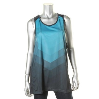 Calvin Klein Performance Mens Colorblock Wicking Tank Top - L