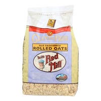 Bob's Red Mill Gluten Free Old Fashion Rolled Oats - 32 oz - Case of 4