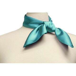 Silk Feel Neckerchief Square Scarf (More options available)