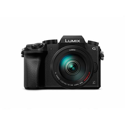 Panasonic LUMIX G7 Mirrorless Camera with 14-140mm Lens