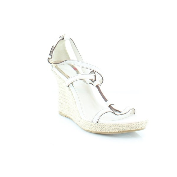 Burberry Wedland Women's Sandals & Flip Flops White - 10