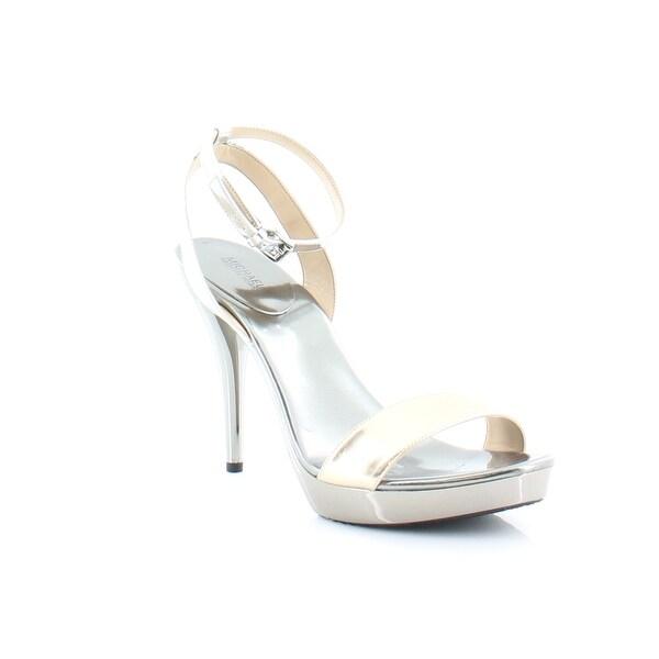 Michael Kors Catarina Sandal Women's Heels PL Gold / Silver