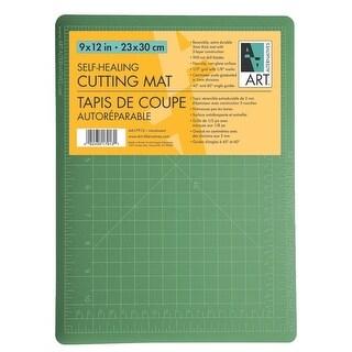 """Art Alternatives - Self-Healing Cutting Mat - 36"""" x 48"""" - Double Sided Green/Black"""