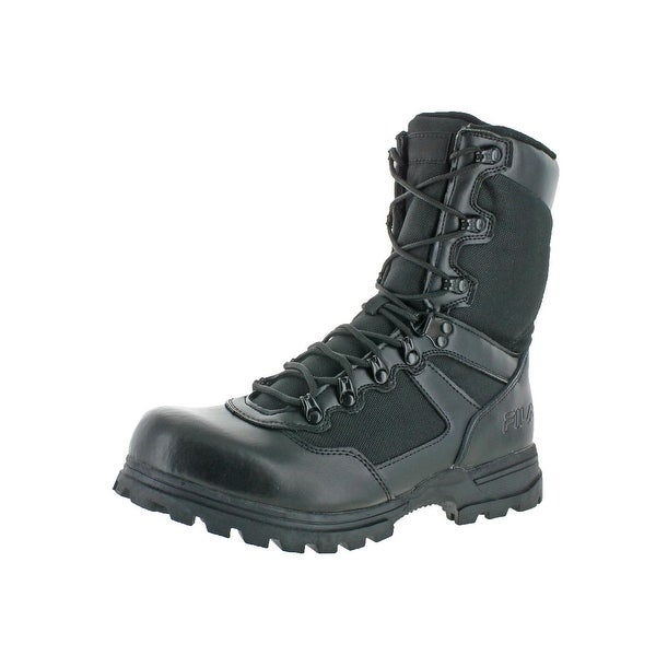 Fila Mens Stormer Tactical Boots Leather Military