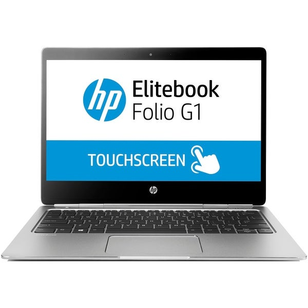 "HP EliteBook Folio G1 (W0R79UTR#ABA) Core m5, 256SSD 12.5"" FHD Touch Win 10 Pro"
