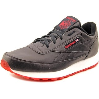 Reebok CL Renaissance Round Toe Leather Sneakers