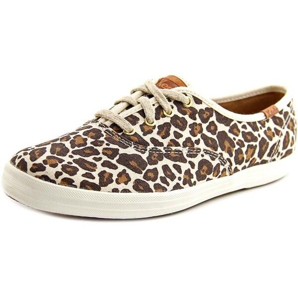 Keds Champion Animal Women Tan Multi Sneakers Shoes