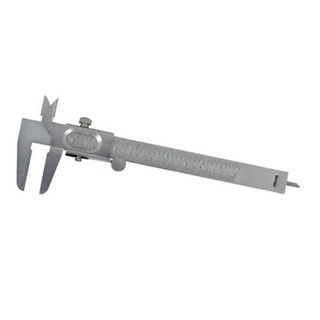 General 722 Metric And English Vernier Caliper, 5""