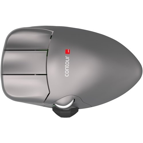 """""""Contour Design Wireless Mouse Wireless Mouse"""""""