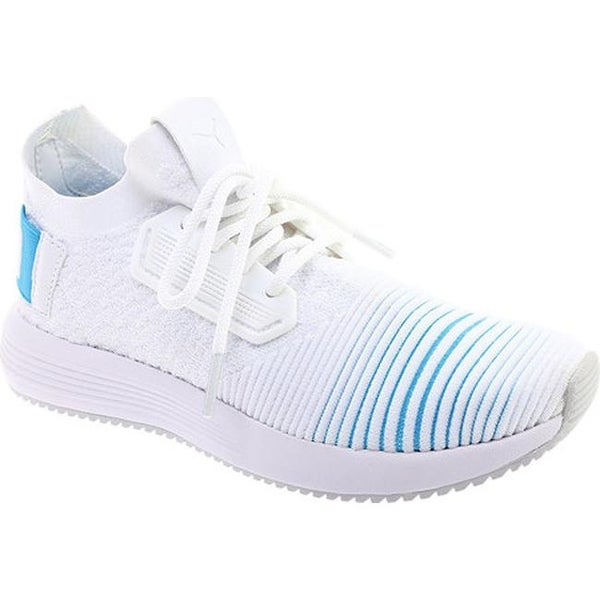 aa08faa69f1 PUMA Women's Uprise Color Shift Sneaker PUMA White/Bluefish/Gray