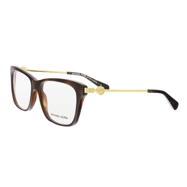 9975ad76d6 Shop Michael Kors MK8022 Abela IV Havana Cat Eye Opticals - 52-16 ...