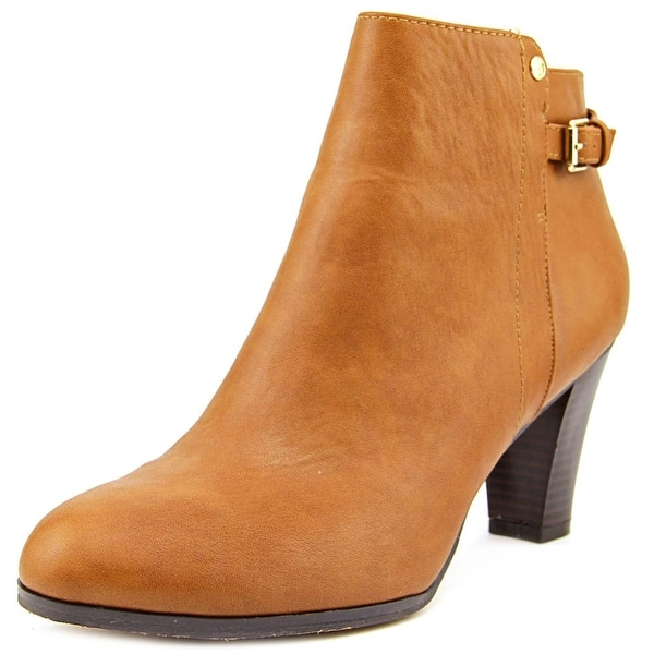 Giani Bernini Brinaa Women Round Toe Synthetic Brown Bootie