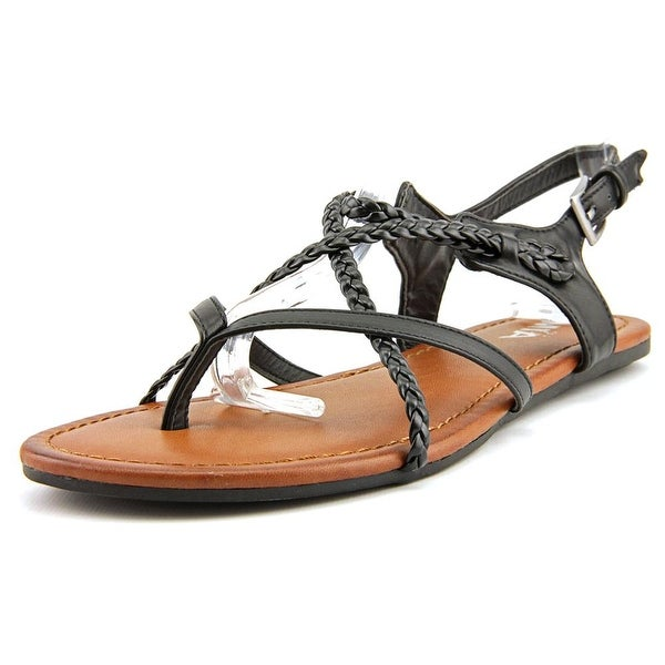 Mia Girl Adrianna Women Black Sandals