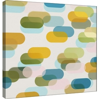 """PTM Images 9-101086  PTM Canvas Collection 12"""" x 12"""" - """"Transitions S"""" Giclee Abstract Art Print on Canvas"""
