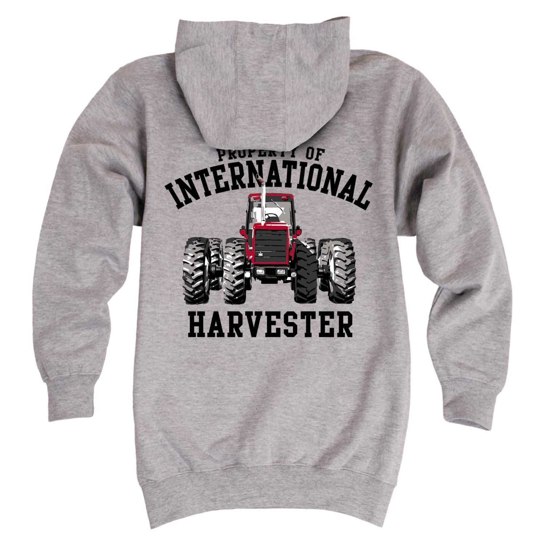 INTERNATIONAL HARVESTER IH  LOGO  HOODIE HOODED SWEATER FREE SHIPPING