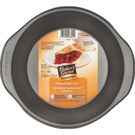 "Bakers Secret Bs 9"" Pie Pan"