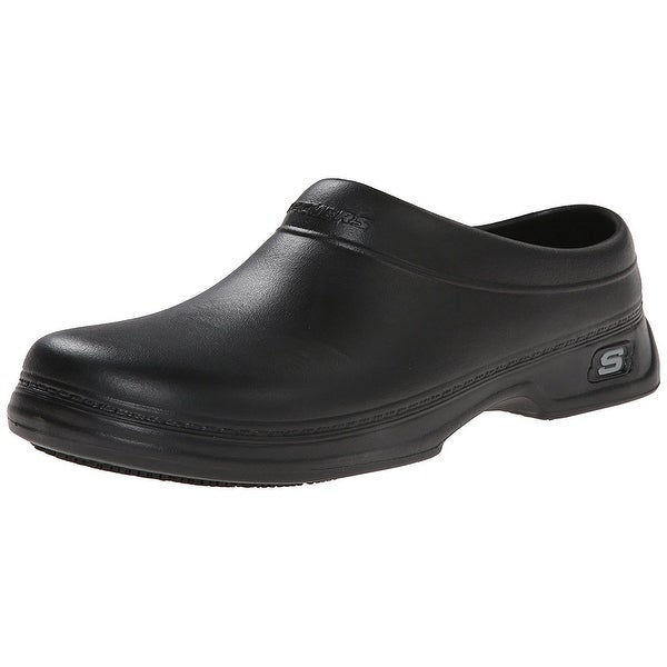 Men's Skechers Oswald - Balder Work Clogs BLACK