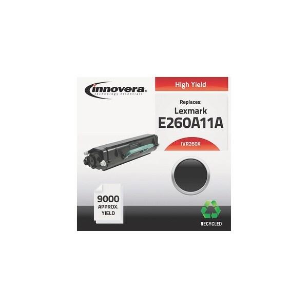 Innovera Remanufactured E260A11A (E260)Toner, Black Remanufactured E260A11A (E260) High-Yield Toner, Black