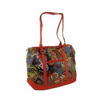 Hadaki Hannah's Tote Paisley Print Oversized Bag