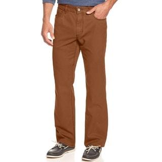 Tommy Bahama Lewis Authentic Fit Bourbon Orange Jeans 33 x 32