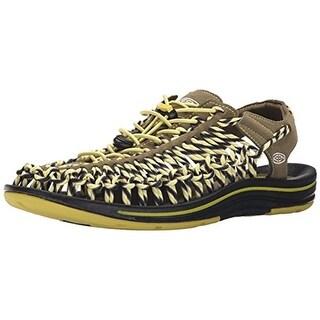 Keen Mens UNEEK Slice Fade Off-Road Sandals Lace-Up Active - 11.5 medium (d)