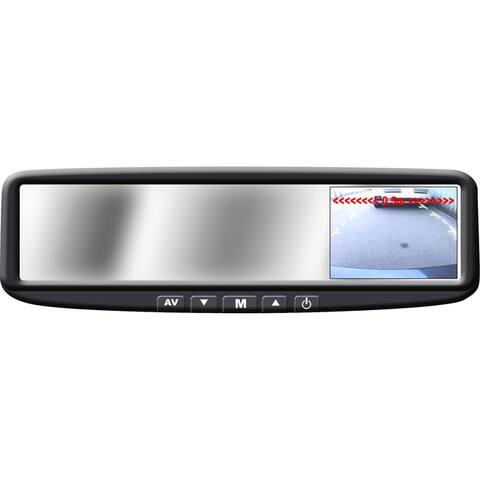Boyo vtb44m 4 3 digital tft lcd rear view mirror monitor