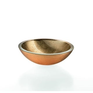 """WS Bath Collections Acquaio 53695 11-4/5"""" Round Vessel Bathroom Sink from the Linea Collection"""