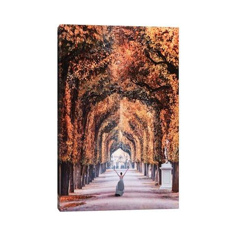 "iCanvas ""Autumn In Vienna"" by Hobopeeba Canvas Print"