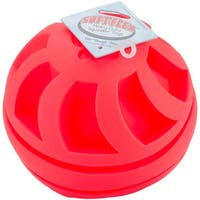 Red - Soft Flex Swirl Ball 7""
