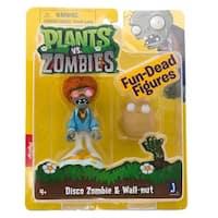 "Plants Vs Zombies 3"" Figure 2-Pack: Disco Zombie & Wall-nut - multi"