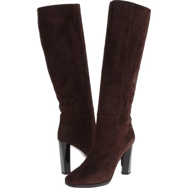 Diane von Furstenberg NEW Brown Shoes 10.5M Knee-High Pagri Boots