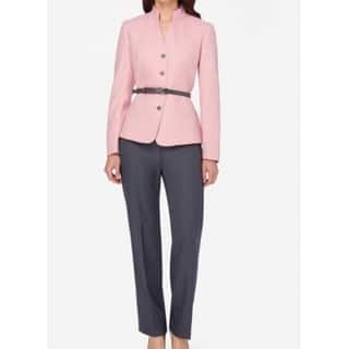 Tahari by ASL NEW Pink Womens Size 18 Belted Herringbone Pant Suit Set|https://ak1.ostkcdn.com/images/products/is/images/direct/61eaf1efa8099beb6ed5e2e1b5fcf708c06e0954/Tahari-by-ASL-NEW-Pink-Womens-Size-18-Belted-Herringbone-Pant-Suit-Set.jpg?impolicy=medium