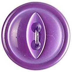 "Lavender 2-Hole 5/8"" 4/Pkg - Slimline Buttons Series 1"