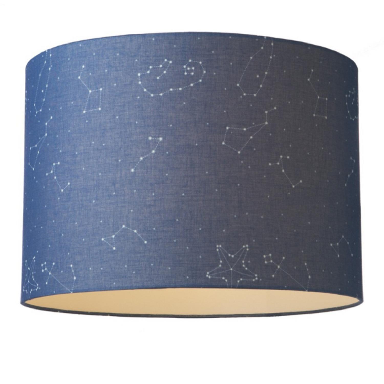 Shop 20 Medium Blue Night Sky Constellation Hanging Drum Pendant Ceiling Light Overstock 16645245