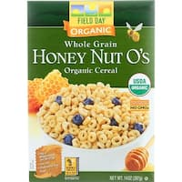 Field Day Cereal - Organic - Whole Grain - Honey Nut Os - 14 oz - case of 10