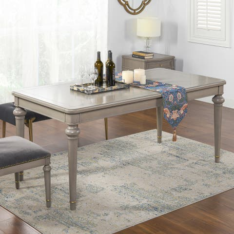 """Dauphin 71"""" Rectangular 6-Seater Dining Table by Jennifer Taylor Home"""