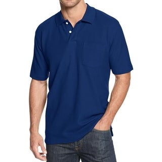 John Ashford Mens Big & Tall Polo Shirt Pique Pocket