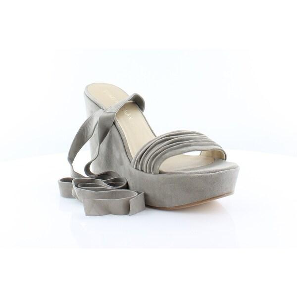 Stuart Weitzman Swifty Women's Sandals & Flip Flops Fossil - 9.5