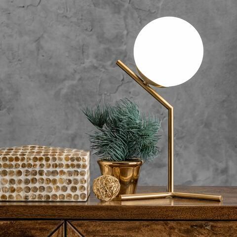 "nuLOOM Pierre 9"" Iron Table Lamp"