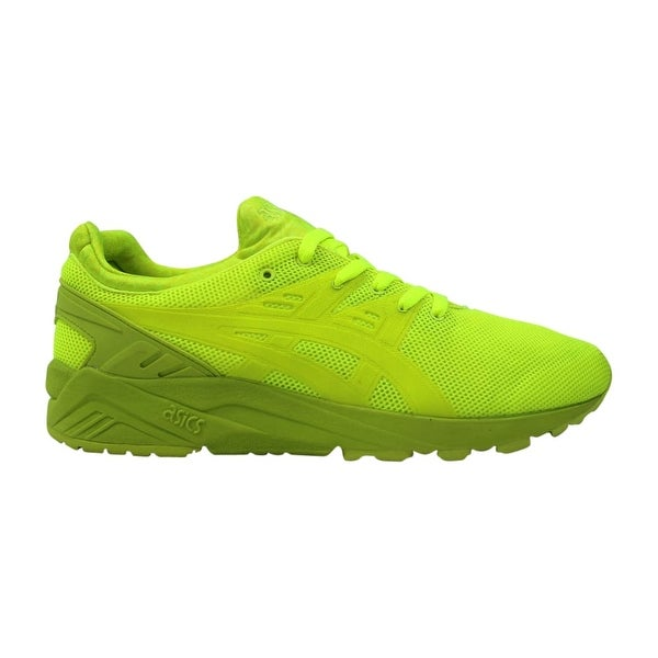 14e43fe4c9a38 Shop Asics Gel Kayano Trainer Evo Lime/Lime H51DQ 0505 Men's - Free ...