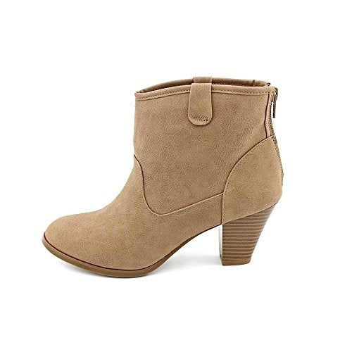 Style & Co. Womens Donia Almond Toe Ankle Fashion Boots