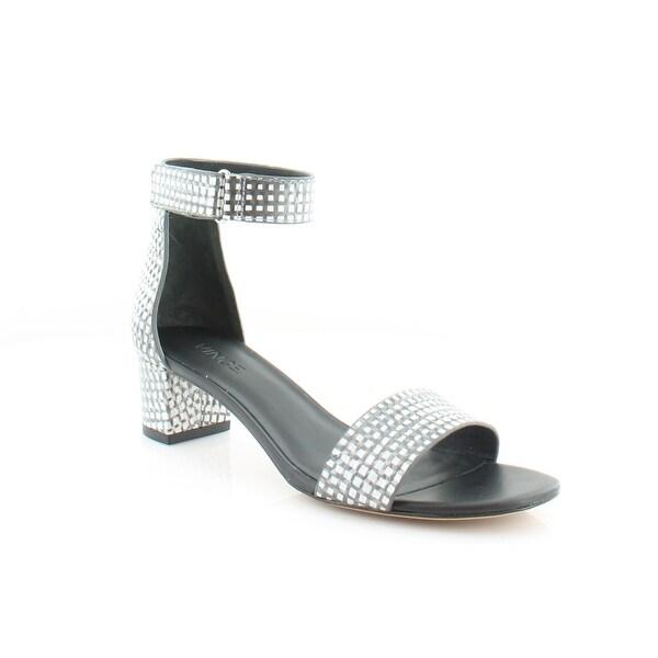 Vince Rita Women's Sandals & Flip Flops Blk/Wht - 6