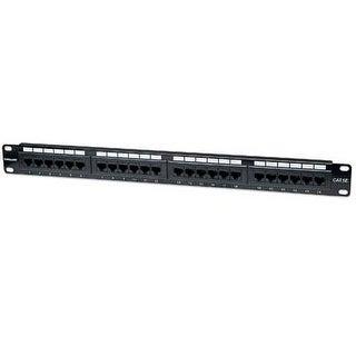 Ici513555 - Intellinet 513555 Cat-5E Patch Panel, 24 Port, Utp, 1U