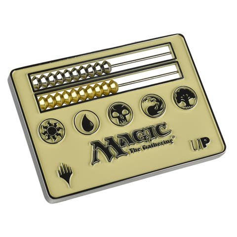 Card Size White Abacus Life Counter for Magic: The Gathering - multi