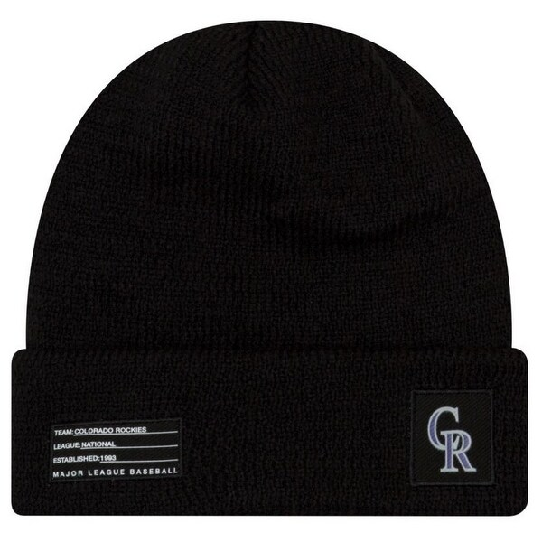 8f768c221be849 Shop New Era MLB Colorado Rockies Sport Stocking Knit Hat Beanie Cuff Skull  Cap - Free Shipping On Orders Over $45 - Overstock - 27341197