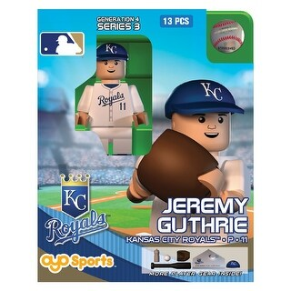 Kansas City Royals MLB OYO Sports Mini Figure: Jeremy Guthrie - multi