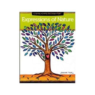 Design Originals Expressions of Nature Coloring Bk
